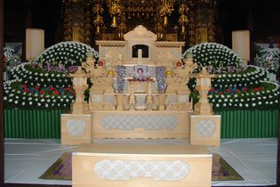 寺院の雰囲気のイメージ